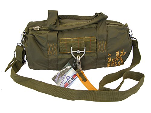 PARA-BAG-Sac-2-Parachutistes-style-avec-mousqueton--libration-rapide