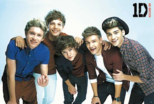 O-7258 One Direction - Niall Horan, Zayn Malik, Liam Payne, Harry Styles, Louis Tomlinson - Teen Pop Music Collections,decorative Poster Print Vintage New Size: 35 X 24 Inch.#7 (One Direction Poster Zayn compare prices)