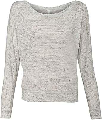 Bella 8850 Ladies' Flowy Off-Shoulder Long-Sleeve Dolman Top Shirt