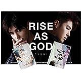 (2枚set) 東方神起 RISE AS GOD [ユノ&チャンミン][BLACK & WHITE](2CD+限定ミニフォト冊子3冊+初回ポスター)(韓国盤)(デラックス特典/翻訳付)(ワンオンワン店限定)