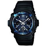 [カシオ] CASIO 腕時計【G-SHOCK】デジアナ 電波ソーラー◆AWG-M100A-1A [逆輸入品]