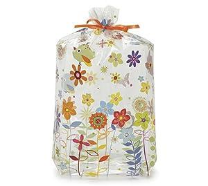 Happi Tree Sweet Tweet Cello Birthday Party Favor Bag 11x5x2.5 (10) Shower Treat
