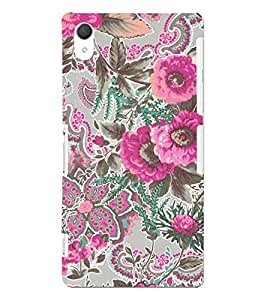 Phone Decor 3D Design Perfect fit Printed Back Covers For Sony Xperia Z2