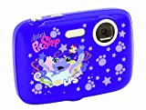 Littlest Pet Shop - Cámara digital de 3MP (Lexibook DJ041LPS)