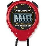Cronómetro profesional ACCUSPLIT Pro Survivor - A601X pantalla extra grande.