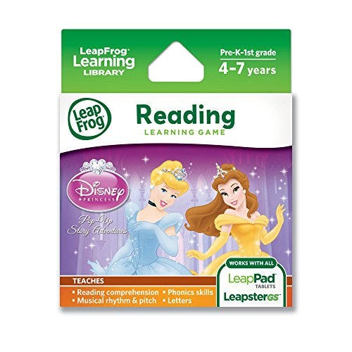 Leapfrog Disney Princess: Pop-Up Story Adventures Learning Game (Works With Leappad Tablets And Leapster Gs) front-897710