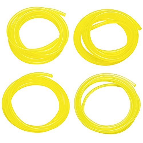 Paxcoo 20 Feet Petrol Fuel Line Hose Lubricant Tubing with 4 Different Size for Weedeater, Chainsaw and Common 2 Cycle Small Engines (Briggs 2 Cycle compare prices)