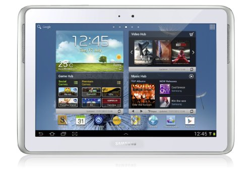 Samsung Galaxy Note 10.1 inch Tablet – White (ARM Cortex A9 1.4GHz, 16GB, Wi-Fi, BT, Android 4.0)