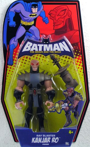 Batman Brave and the Bold Action Figure Kanjar Ro (Ray Blaster) - 1