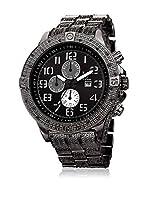 Joshua & Sons Reloj con movimiento cuarzo suizo Man JS78BK 51 mm