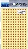 エーワン カラーラベル赤丸型3mmφ 07681