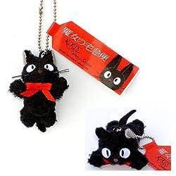 Kikis Delivery Service 2 Kikis black cat with chain