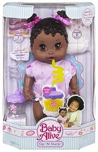 Amazon Com Baby Alive Sip And Slurp African American