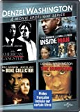 Denzel Washington 4-Movie Spotlight Series (Bilingual)