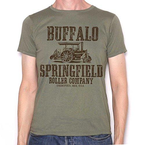 Buffalo Springfield T Shirt - Classic Tractor Roller