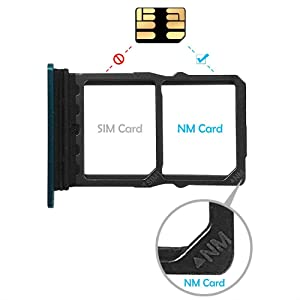NM Card Nano Memory 128G Card 90MB/S Nano SD Card Compact Flash Card, only Suitable for Huawei P30 and Mate20 Series 128GB Nano Card