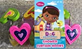 Disney Doc McStuffins Shower Curtain Hooks Set of 12