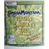 Raw Extra Virgin Camelina Oil - 5 Gallons