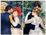 Renoir City Dance Country Dance Portfolio Notes (0735338922) by Bridgeman Art Library