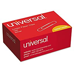 UNV72220 - Universal Smooth Paper Clips