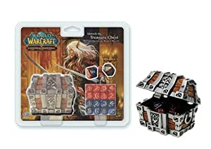 World of Warcraft Trading Card Game Card Supplies Treasure Chest and Dice Set