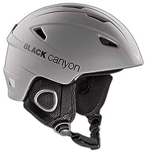 Black Canyon Kitzbühel Unisex Ski Helmet - M - 57-58cm, Mat Grey