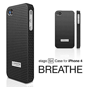 elago S4 BREATHE Case for iphone 4 -Black