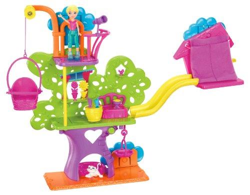 波莉口袋墙党树屋玩具