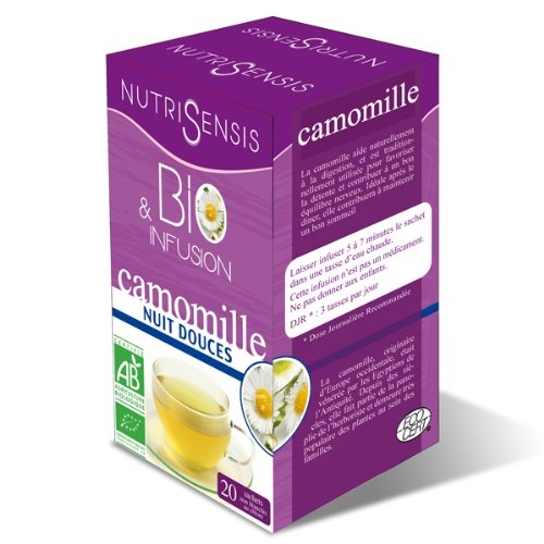 Infusion Camomille bio - Nuits douces - 20 sachets