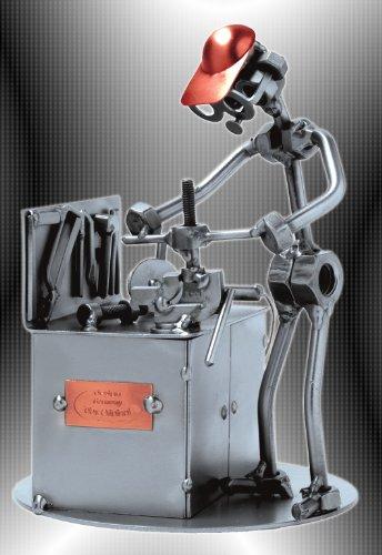 Boystoys-HK-Design-Schraubenmnnchen-Schlosser-Werkbank-Handwerker-Metall-Art-Geschenkideen-Deko-Skulptur-Arbeit-Beruf-hochwertige-Original-Figuren-handgefertigt