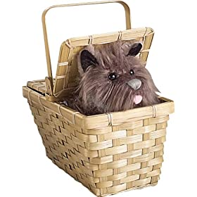 Rubies Costume Wizard of Oz Dorothy's Toto in a Basket