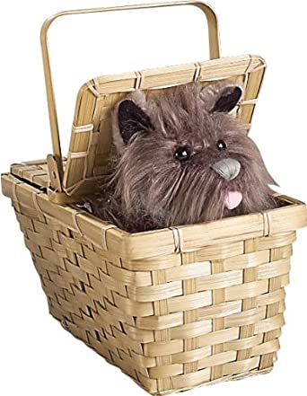 Wizard of Oz Dorothy's Toto in a Basket