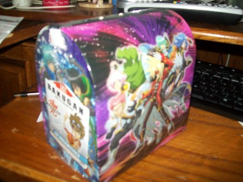 32 Bakugan Valentines w/ Keepsake Light up Mailbox by Paper Magic - 1