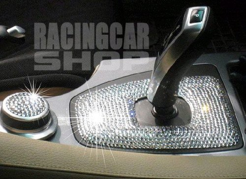 Interior Exterior Iced Out Crystal Bling Diamond Sheet (Infiniti Bling Emblem compare prices)