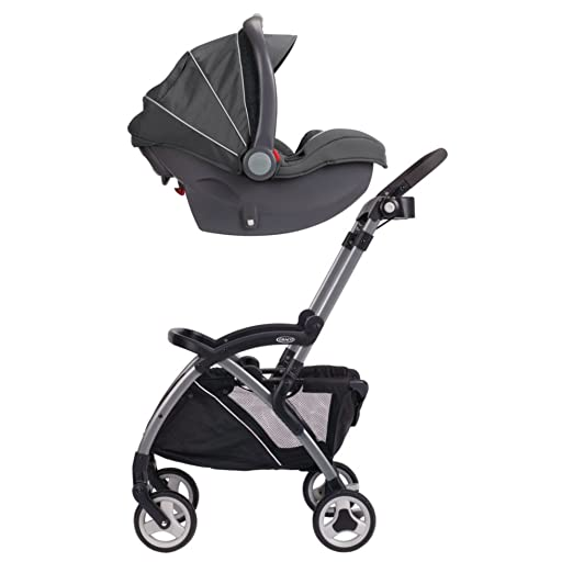 If You Need A Double Stroller To Fit One Or Two Graco Snugride Infant Car Seats Consider The Ready2grow Click Connect LX Fastaction Fold