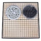 Tinksky Go Magnética Juego de Mesa 19 x 19 Línea Juego de Estrategia