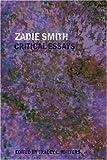 Zadie Smith: Critical Essays