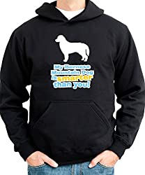 MY Bernese Mountain Dog IS SMARTER THAN YOU ! Mens Hoodie