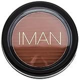 Iman Cosmetics Luxury Blushing Powder, Sable