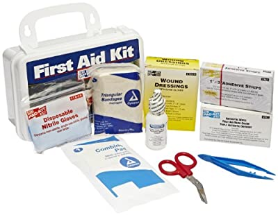 Pac-Kit by First Aid Only 6410 76 Piece #10 ANSI Plus Weatherproof Plastic Case First Aid Kit from Acme United