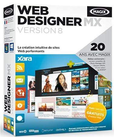 Magix web designer MX