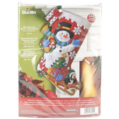 Bucilla Christmas Stocking Kits