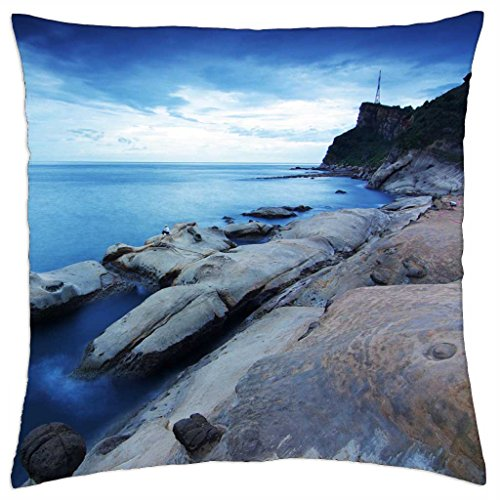"""Somewhere At Taiwan - Throw Pillow Cover Case (18"""" x 18"""")"""