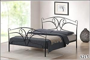 BRAND NEW 5ft METAL BLACK KINGSIZE BED FRAME