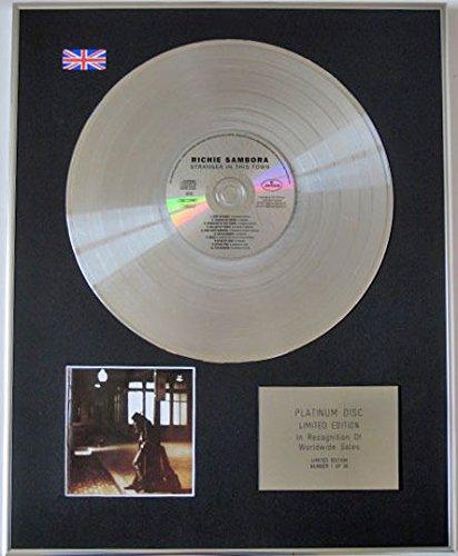 RICHIE SAMBORA Ltd-Platinum Edition CD STRANGER disco IN TOWN