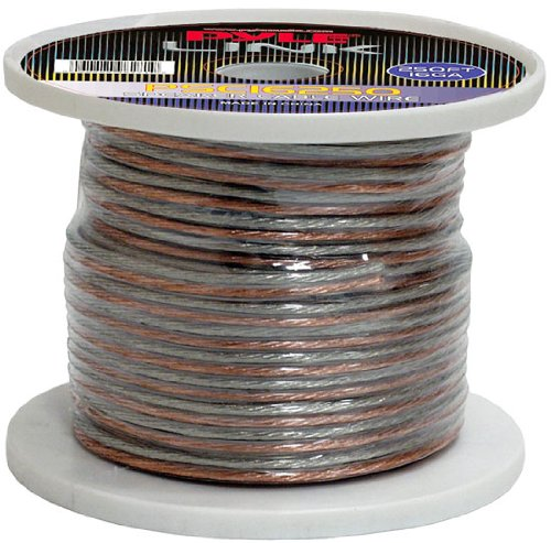 Pyle Psc16250 16-Gauge 250-Feet Spool Of High Quality Speaker Zip Wire