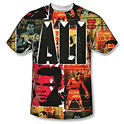 Muhammad Ali Posters All Over Print Front T-Shirt