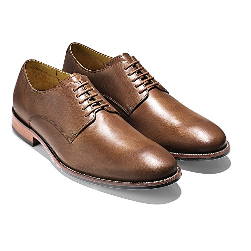 cole haan mens williams plain ii oxford camel dress shoes