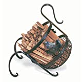 MAPLE LEAF Fatwood Fireplace Hearth Woodstove Kindling Caddy