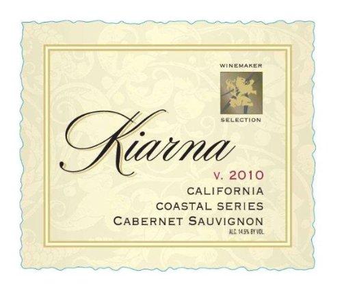 2010 Kiarna Cabernet Sauvignon, California 750 Ml